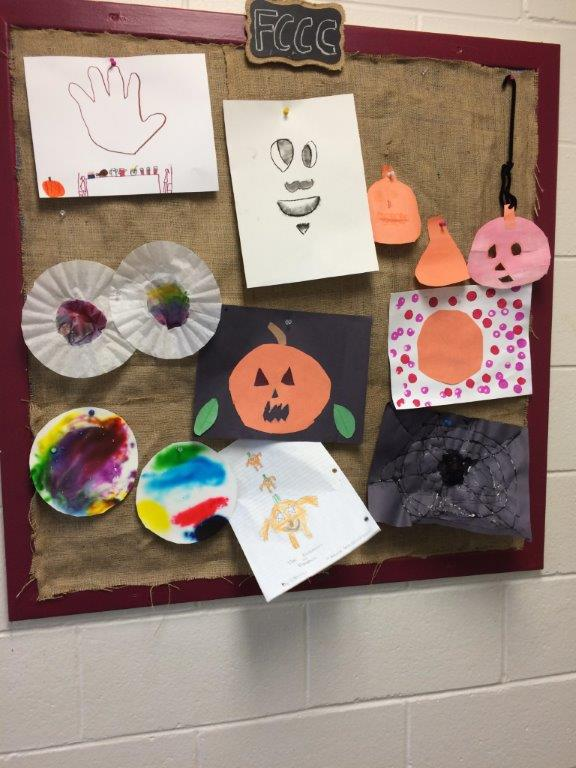 childcare activities halloween crafts